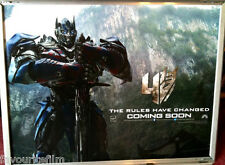 Cinema Poster: TRANSFORMERS AGE OF EXTINCTION 2014 (Optimus Prime Quad) Wahlberg