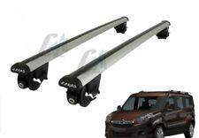 Per Opel Combo D Fiat Doblo /'breve tetto struttura con barre portatutto Nero Set con TÜV ABE