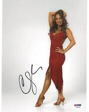 Cheryl Burke Signed DWTS Authentic Autographed 8x10 Photo (PSA/DNA) #V90228