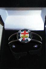 Medieval Knight Templar Symbol Sign Bracelet Wristband Bangle Crusade Gift Box K
