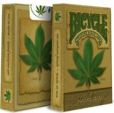 2 Decks Bicycle Hemp Standard Poker Playing Cards Sealed New In Box