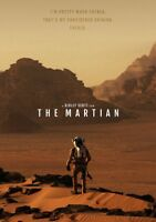 THE MARTIAN Movie PHOTO Print POSTER Textless Film Art Matt Damon Ridley Scott 3