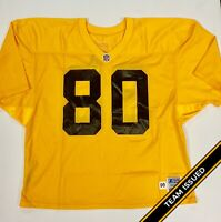 Pittsburgh Steelers Team Issued 1996 Gold Starter Practice Jerseys