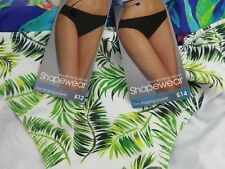 x2 Pairs Ladies Plus Size 18 Bikini Bottoms BHS BNWT Shapewear