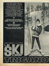 A- Publicité Advertising 1963 Vetements de Ski Hiver Trigano
