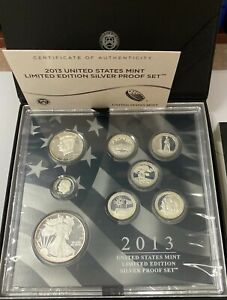 2013 US Mint Limited Edition Silver Proof Set ( Toned)