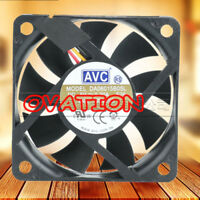 For 1pc AVC DA06015B05L Cooling fan 5V 0.20A 1.0(W) 3pin 60*60*15mm