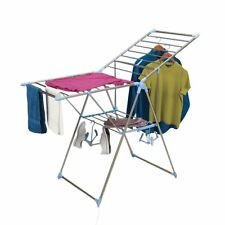Clothes Drying Rack Foldable Laundry Room Hang Lay Flat Aluminum Stainless Steel