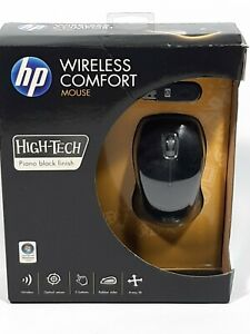NEW - HP Wireless Optical Comfort Mobile Mouse - White Grey - NU565AA