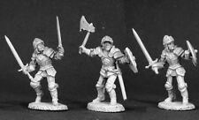 Fighters Reaper Miniatures Dark Heaven Legends Paladin Warrior Melee Axe Sword