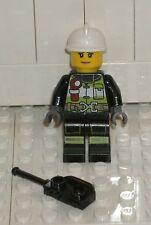 LEGO CITY Female Firefighter 60107 Minifigure Fire Ladder Truck