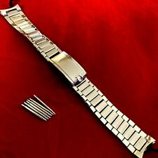 Vintage Omega Speedmaster Bracelet Flat Link 7912 w/End Links #7 18mm 1/1964