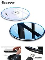 Fast Wireless Charger Plate For iPhone 11/X/XS/XR Samsung S6/7/8/9/10/+Note 10/9