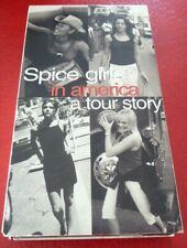 VHS Movie Spice Girls in America A Tour Story