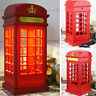 Telephone Booth Lights USB Rechargeable Red Table Phonebox LED Lamps London bN