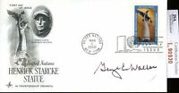 Alabama Govenor George C Wallace Jsa Authenticated Signed Fdc Certed Autograph