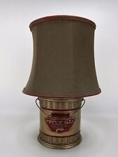 Falle City Minnow Bucket Style Table Lamp 20""