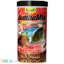 Tetra JumboMin Large Floating Sticks 7.4oz (210g) Fish Food Cichlid Arrowana