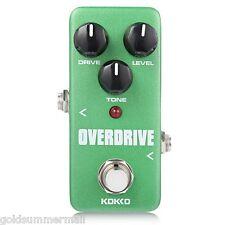 Flanger Mini Guitar Effect Pedal KOKKO Overdrive True Bypass Design Deep Green