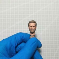 1/12 Scale Handsome Beard Captain America Head Sculpt for 6in Shf Action Figure