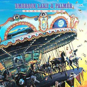 Emerson Lake & Palmer Black Moon 12x12 Album Cover Replica Poster Print