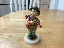 New ListingBoy Playing Violin Music Instrument Goebel Hummel Germany Figure 5 1/2� Tall