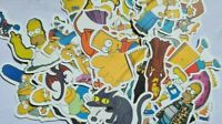 50x Aufkleber Simpsons Stickerbomb Style Decals Sticker Laptop Skateboard Gitar