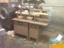 Cissel 3 station silk finishing presses