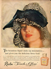 1961 Vintage ad for Revlon Touch & Glow Liquid Make-up~Clearance (091413)