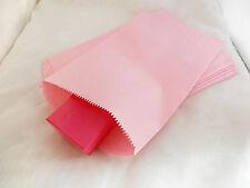 25pcs -6x9 Inch Light Pastel Pink Paper Merchandise Bags, Gift Party Kraft Bags