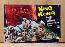 KING KONG fotobusta poster Bruce Cabot Fay Wray Robert Armstrong Sci-Fi BZ46