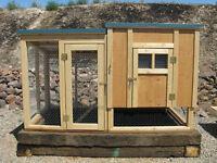 Chicken coop plan & material list, The Garden Coop