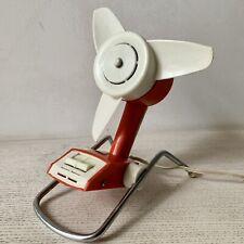 VINTAGE FAN Electric Table Desk Fan 70s  USSR Retro  Home Decor