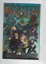 X-MEN Alpha & Omega    1st Dark Beast & X-Man Foil Covers!     9.6 NM+, Marvel