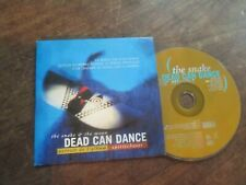 french cd promo cardsleeve dead can dance the snake and the moon