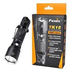 Fenix TK15UE version 1000 Lumen Cree LED tactical Flashlight w/ holster,Lanyard