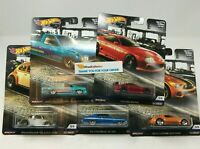5 Car Set * 2019 Hot Wheels BOULEVARD Car Culture Case M * IN STOCK
