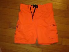 Ron Jon Orange Boardshorts/Swim Shorts Trunks Bottoms Size 5S