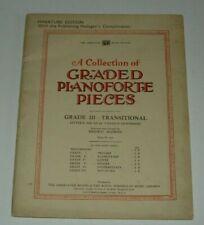 GRADED PROGRESSIVE PIANOFORTE PIECES - ROYAL SCHOOL OF MUSIC MINIATURE EDITION
