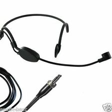 ME1 Black Wearing Headset Headworn Microphone For Sennheiser G1 G2 G3 Wireless