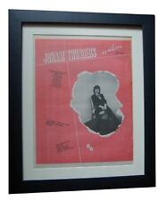 JOHNNY THUNDERS+So Alone+TOUR+POSTER+AD+ORIGINAL 1978+FRAMED+EXPRESS+GLOBAL SHIP