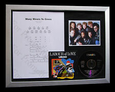 UB40 Many Rivers Cross TOP QUALITY CD MUSIC LTD FRAMED DISPLAY+FAST GLOBAL SHIP