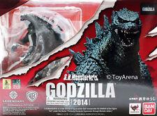 Bandai Tamashii Nations S.H. MonsterArts Godzilla 2014 Toy Figure New