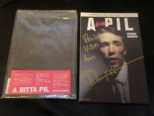 A Bitta PIL Japan Photo Book Signed by Dennis Morris Sex Pistols John Lydon