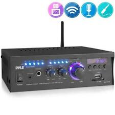 Pyle Pcau46Ba Wireless Power Amplifier Home Audio Bluetooth Receiver System