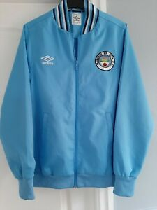 Manchester City Football Jacket Size Small