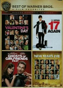 17 Again, Valentine's Day, Ghosts of Girlfriend's Past, New Year's Eve Free Ship