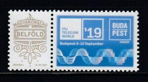 HUNGARY ITU Telecom World '19 MNH stamp