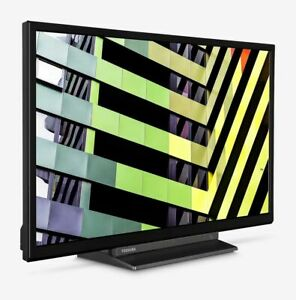 "Toshiba 24WD3C63DB 24"" Smart TV 720p HD Ready LED Analog & Digital WITH DVD"