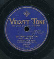 78tk-dance-VELVET TONE 2100-Golden Gate Orch. / Lou Gold